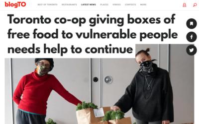 BlogTO Article – Jan 12, 2021