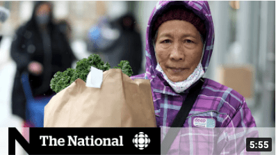 CBC The National Story: Toronto emergency food program faces uncertain future