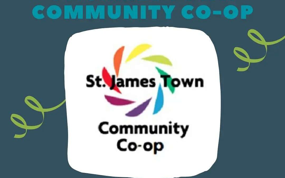 St. James Town Coop receives Organizational Co-operative Champion award!